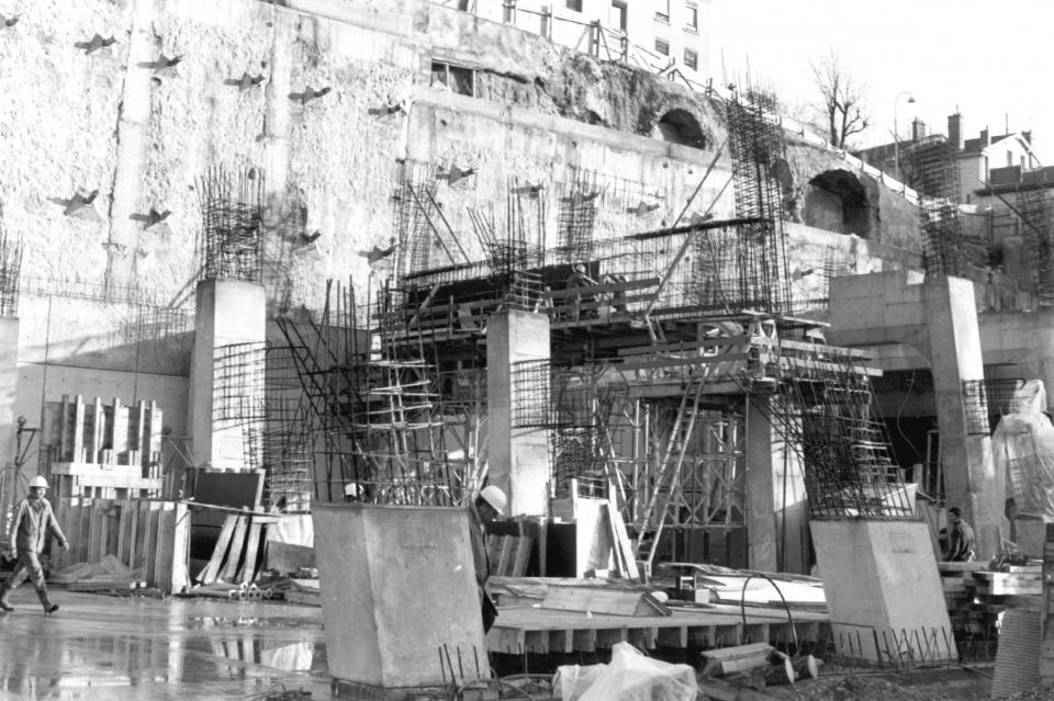 Construction du musée