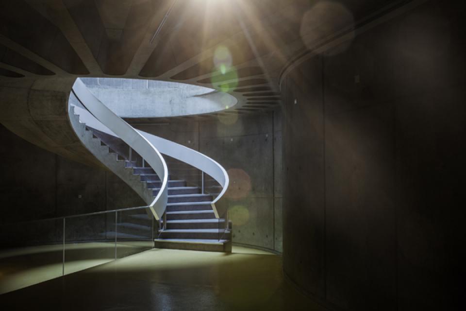 L'escalier hélicoïdal