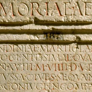 Inscription © Christian Thioc - Jean-Michel Degueule / Lugdunum
