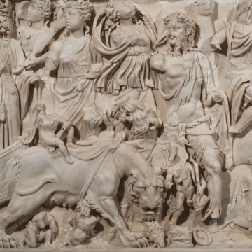 Sarcophage de Bacchus / Lugdunum