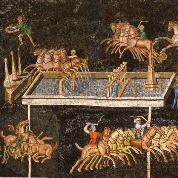 Mosaïque des jeux du cirque