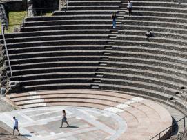 Lugdunum : théâtre romain©Laurence Danière
