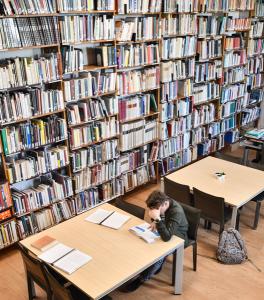 La bibliothèque / Lugdunum