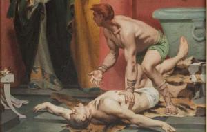 La mort de l'empereur Commode - Fernand Pelez