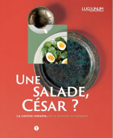 Couverture du catalogue de l'exposition Une salade, César ?