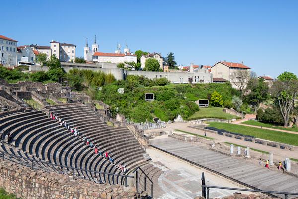 Le théâtre romain / Lugdunum