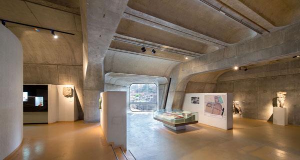 Architecture du musée Lugdunum