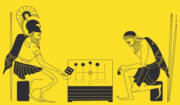 Visuel de l'exposition Ludique, jouer dans l'Antiquité