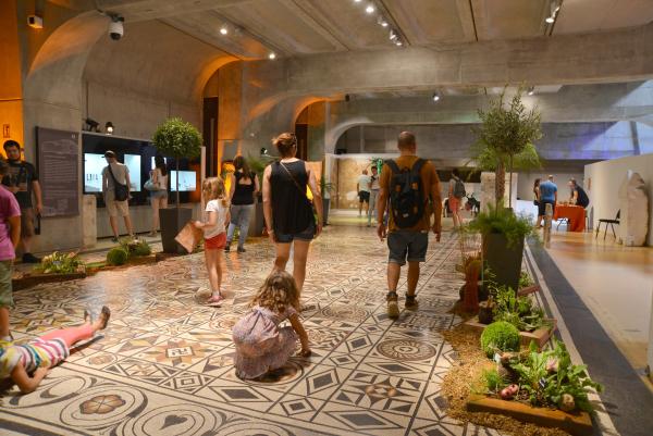 Le jardin aux épices et aux saveurs romaines