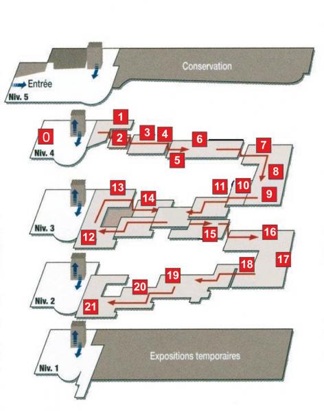 Plan du musée / Lugdunum